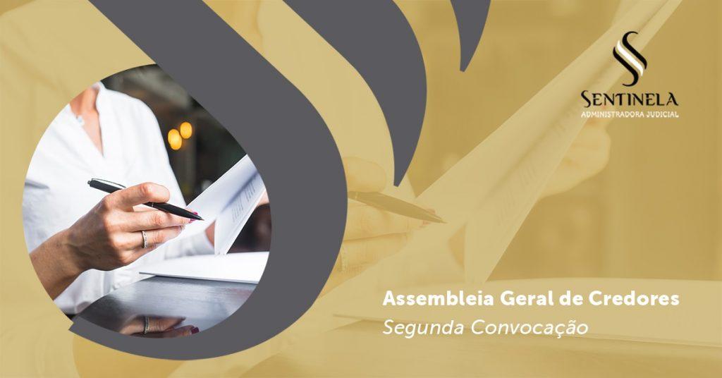 Assembleia Geral de Credores segunda convocação